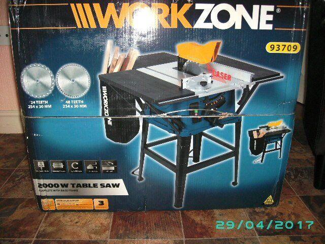 Workzone Table Saw In Gaywood Norfolk Gumtree