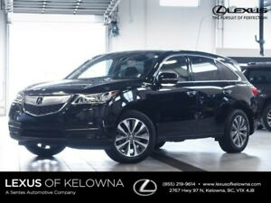 2014 Acura MDX Technology with Rear Entertainment
