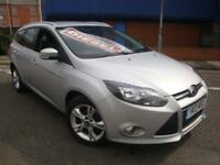 13 FORD FOCUS 1.6 TDCI ZETEC DIESEL ESTATE *TAX EXEMPT*
