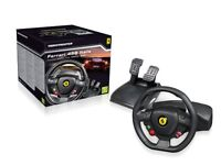 xbox360 and pc ferrari steering wheelgood thing to play with numer house 71 greenthrope road