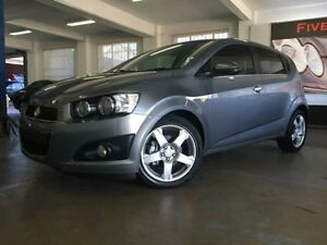2012 Holden Barina TM MY13 CDX Grey 6 Speed Automatic Hatchback Five Dock Canada Bay Area Preview