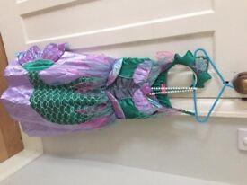 Disney Princess Ariel dressing up outfit
