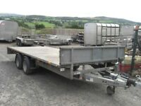 Ifor Williams 16' x 6'6 Flatbed Trailer