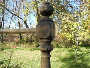 Old handrail and newell post Kingston Kingston Area image 2
