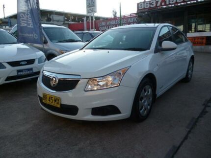 2012 Holden Cruze JH MY12 CD White 6 Speed Automatic Sedan Holroyd Parramatta Area Preview