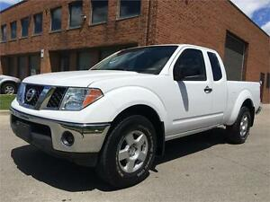 2008 Nissan Frontier SE 4WD - 6 Speed Manual Sport Edition.