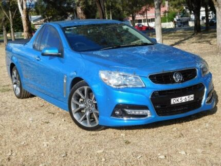 2014 Holden Ute VF MY14 SS V Ute Blue 6 Speed Sports Automatic Utility
