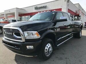 2018 Ram 3500 Longhorn * UCONNECT! DUALLY! LEATHER! *