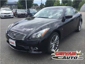 Infiniti Q60 S Sport AWD Cuir Toit Ouvrant MAGS 2015