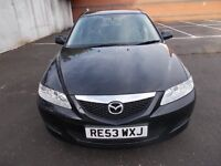 MAZDA 6 2.0 TS HATCHBACK 53 REG,, ONE OWNER CAR FROM NEW,, GOOD DRIVER,, MOT FEBRUARY 2018