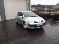 Renault Megane 1.4, Timing Belt, New MOT, Low Miles, Warranty, Excellent Condition, Serviced