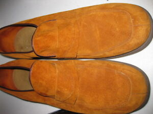 Brown Slip on Leather Shoes -Like New