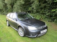 2007 Ford Mondeo 2.2 TDCi ST 155 Estate 62000 miles Full Ford Service History. Grey. Spare key