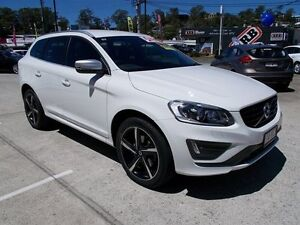 2014 Volvo XC60 DZ MY15 D5 Geartronic AWD R-Design White 6 Speed Sports Automatic Wagon Buderim Maroochydore Area Preview