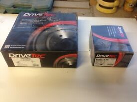 New Unused BRAKE PADS DISCS for AUDI SEAT VW