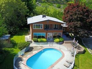 Stunning Lakeview property with Inground Pool in Osoyoos