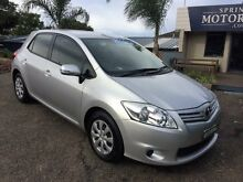 2010 Toyota Corolla Ascent Silver 6 Speed Manual Hatchback Springwood Blue Mountains Preview
