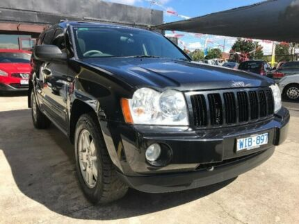 2008 Jeep Grand Cherokee WH MY2007 Laredo Black 5 Speed Automatic Wagon