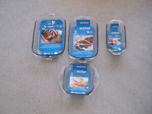 Anchor Baking Ware 4 of them Excellent Shape Never Used. & More