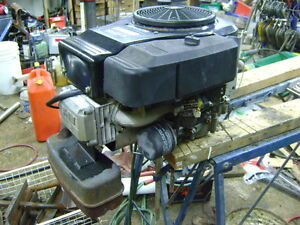 Rebuilt Briggs and Stratton OHV 14HP Engine.