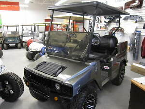 HUMMER GOLF CART 2010 CLUB CAR DS CHASSIS