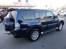2011 Mitsubishi Pajero NT MY11 Exceed Blue 5 Speed Sports Automatic Wagon Alexandra Headland Maroochydore Area Preview