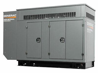 Generac 80kw Industrial Generator With 6.8l Engine - Gas Unit