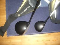COBRA S3 DRIVER AND 3 WOOD