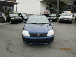 2003 Toyota Corolla ZZE122R Ascent Seca Blue 5 Speed Manual Hatchback Coorparoo Brisbane South East Preview