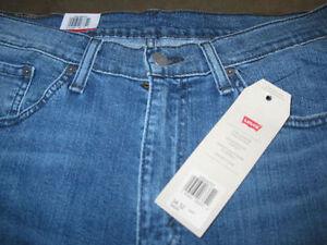 Levis 514 Blue Jeans, 34-32 (BNWT)