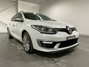 2016 Renault Megane K95 MY14 GT-Line Premium White 6 Speed Automatic Wagon Beresfield Newcastle Area Preview