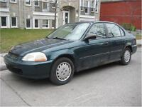 1997 HONDA CIVIC AUTOMATIC, $800 , CARS R TOYS