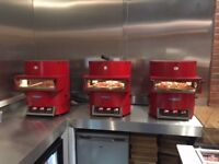 Turbo Chef Fire High Speed Pizza Oven for sales. I have 6 ovens for sales all around 12 months old