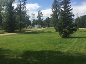 Fully serviced campground on 160ac 4 miles from Wabamun