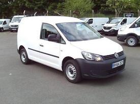 Volkswagen Caddy C20 1.6 Tdi 102Ps Startline Van DIESEL MANUAL WHITE (2014)