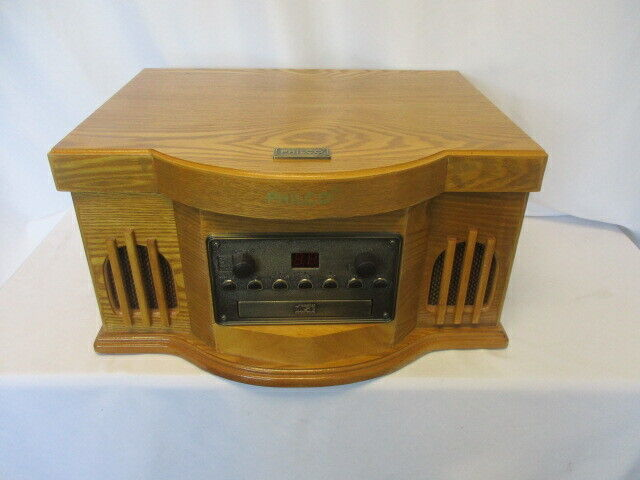 Philco Turntable CD w/ Cassette Model 841.205