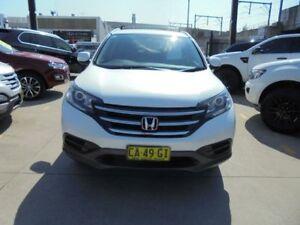 2014 Honda CR-V RM MY15 VTi White 5 Speed Automatic Wagon