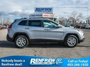 2015 Jeep Cherokee North, Remote Start, Heated Seats, SiriusXM S