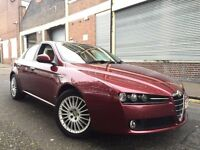 Alfa Romeo 159 2006 2.2 JTS Lusso 4 door FULL SERVICE HISTORY, LEATHER, BARGAIN