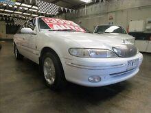 1998 Ford Fairlane NL Ghia White 4 Speed Automatic Sedan Mordialloc Kingston Area Preview