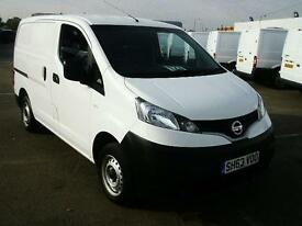 Nissan Nv200 1.5 DCI SE 89BHP VAN DIESEL MANUAL WHITE (2013)