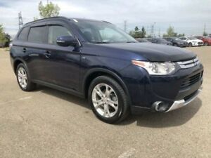 2015 Mitsubishi Outlander SE AWC- Sunroof, Push Start, Backup Ca