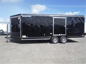 8.5 X 20+4 Drive-On/Drive-Off Enclosed Car Hauler **MUST SEE!!**