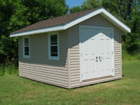 GARDEN AND STORAGE SHEDS. GAZEBOS, ETC