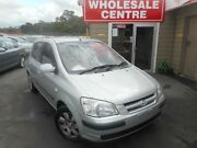 2004 Hyundai Getz TB GL Silver 4 Speed Automatic Hatchback Edgeworth Lake Macquarie Area Preview