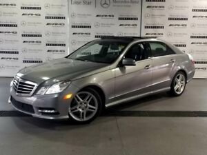 2013 Mercedes-Benz E-Class 4MATIC Sedan