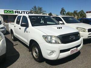 2010 Toyota Hilux KUN16R MY10 SR 4x2 White 5 Speed Manual Utility Winnellie Darwin City Preview