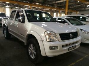 2005 Holden Rodeo RA LT (4x4) White 4 Speed Automatic Crew Cab P/Up Georgetown Newcastle Area Preview