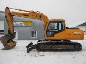 Hyundai 160LCD-3 Excavatrice Pelle Mécanique