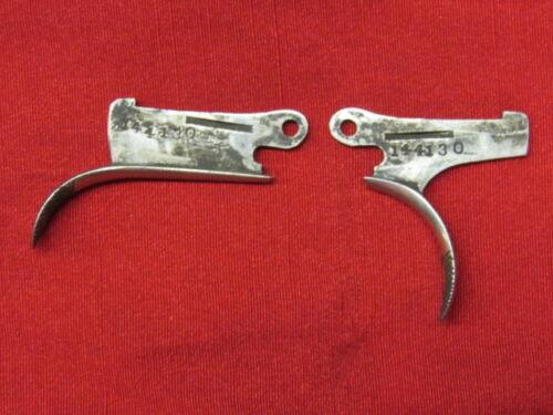 Parker Gun Co Side by Side Shotgun Matching Trigger Set - Checkered